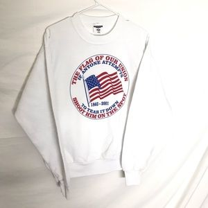 Vintage Patriotic Graphic Sweatshirt
